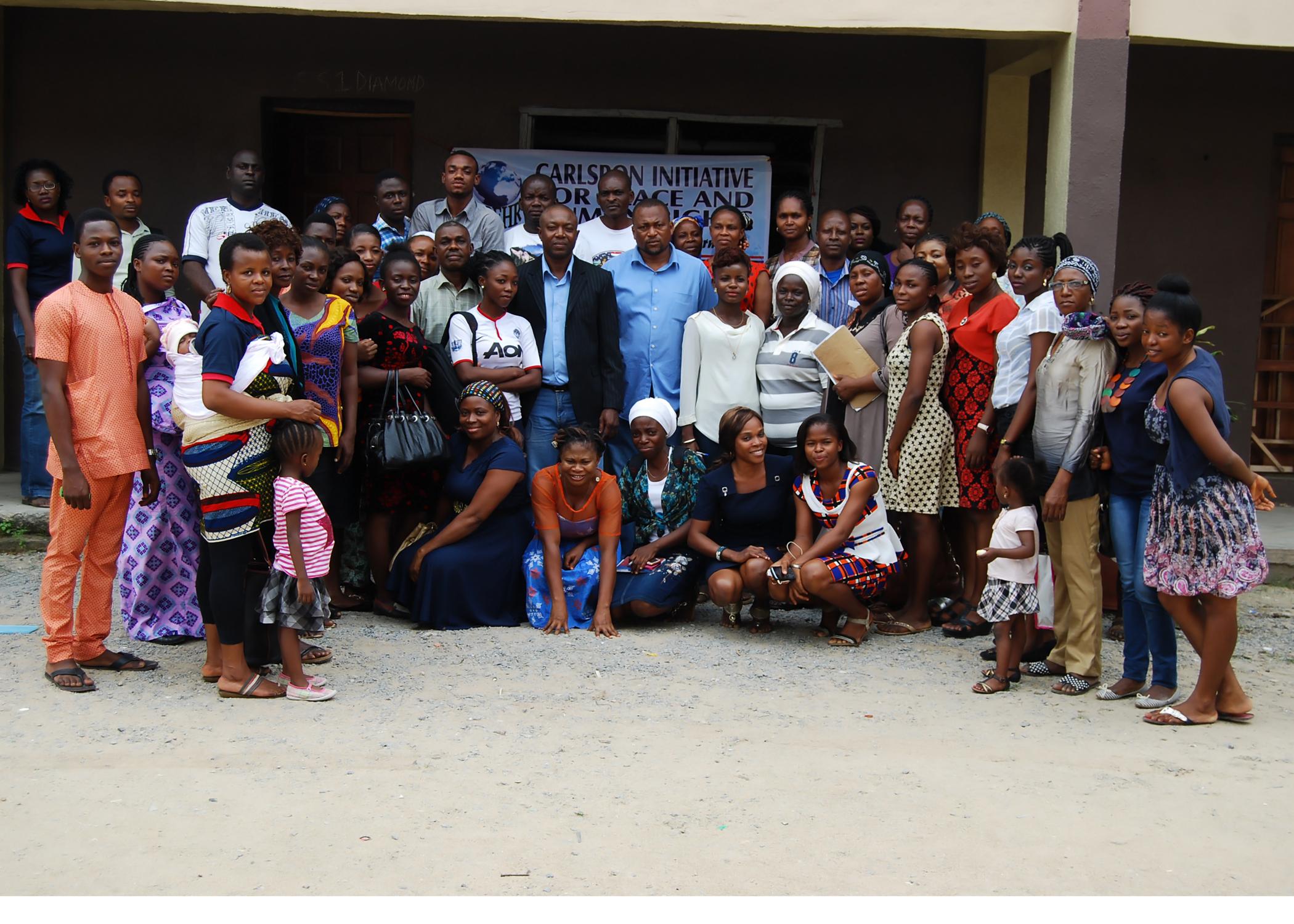 Peace seminar at Adeniran Ogunsanya College of Education